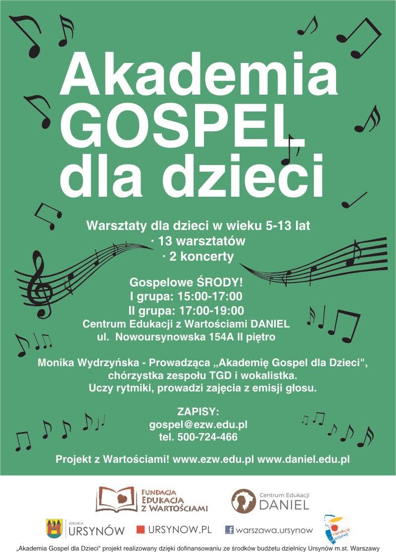 plakat_akademia_gospel_dla_dzieci_nowa_edycja